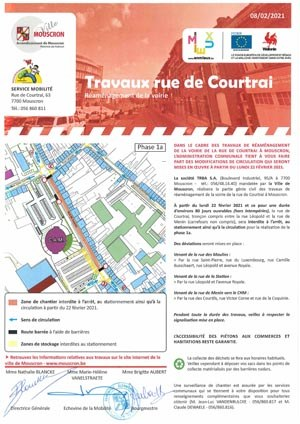 rue de Courtrai