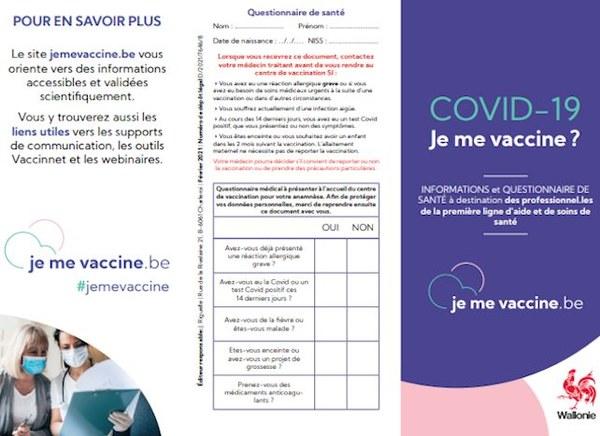 Je me vaccine