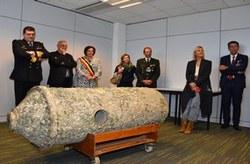 Inauguration d'un centre de recherche et développement pour la Défense