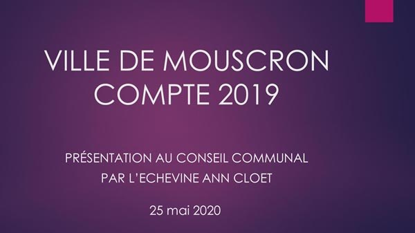 Compte 2019