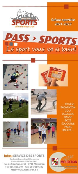 Pass sports 2021-2022 septembre