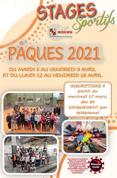 Stage sportif Pâques
