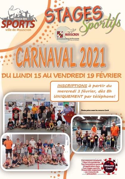 Stage sportif carnaval