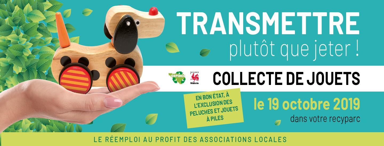collecte jouet mouscron ipalle recyparc