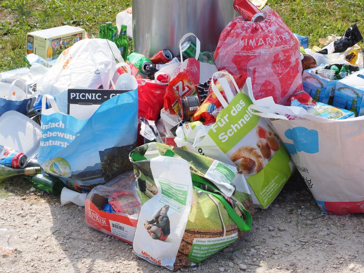 poubelle emballages mouscron